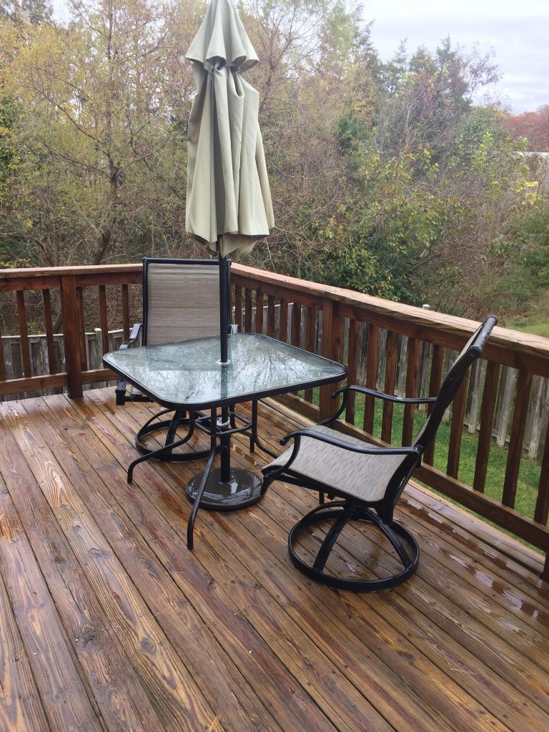 How Power Washing Can Improve the Lifespan of your Deck